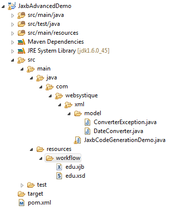 JAXB2 Code Generation Maven Example - WebSystique