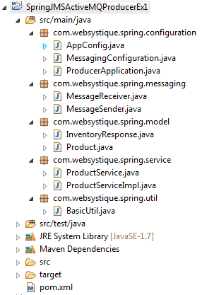Spring 4+JMS+ActiveMQ Example with Annotations - WebSystique