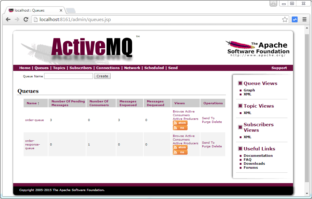 Spring 4 MVC + JMS + ActiveMQ annotation based Example - WebSystique