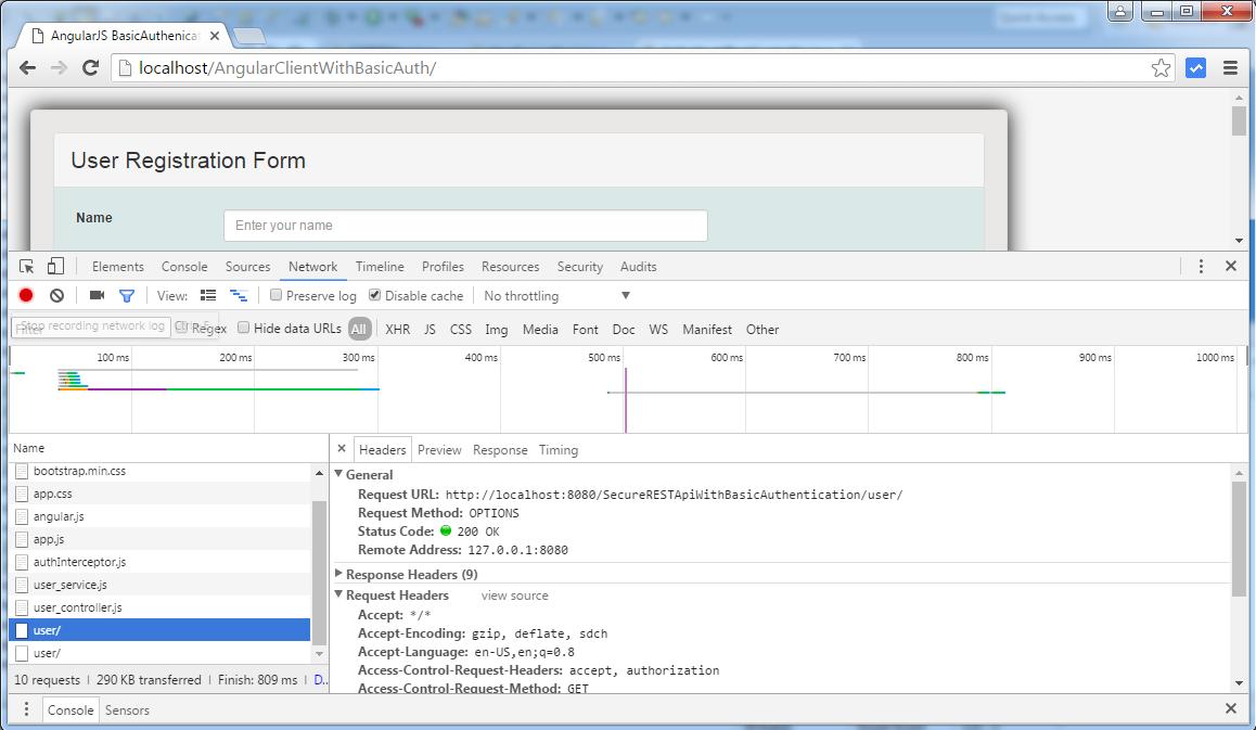 AngularJS+Spring Security using Basic Authentication