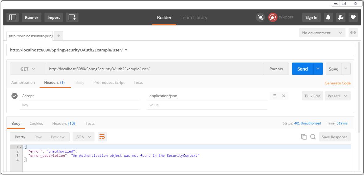 Secure Spring REST API using OAuth2 - WebSystique
